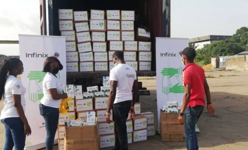 COVID-19: Lagos State Government gets relief materials from Telecommunication Company