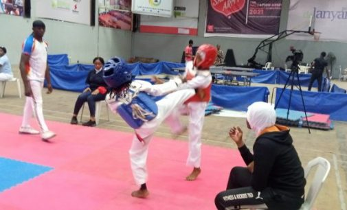 About fifty Taekwondoins battles for qualification in Lagos Open Trial ahead National Youth Games.